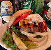 Bacon Cheeseburger at Kelly's Tavern