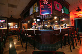 Bar at Kelly's Tavern in Greenbrier